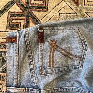 7 For All Mankind Jeans - 7 for all mankind Dojo trouser wide leg jean